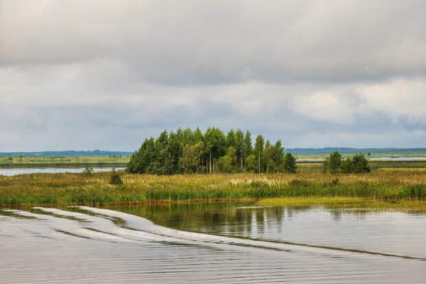 Вологодская область. Шекснинское водохранилище. Часть 1