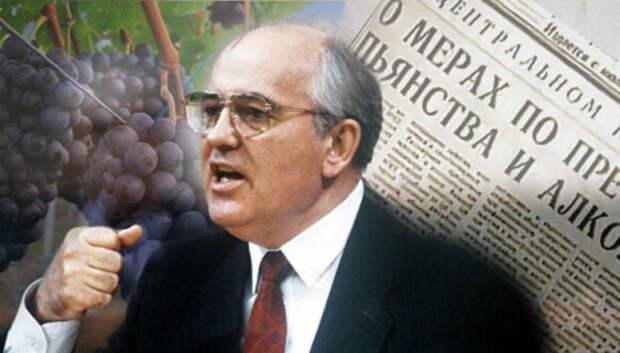 «Сухой закон» Горбачева: почему война с пьянством была бесславно проиграна