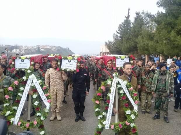 SY 24: Под Пальмиройтеррористы убили двух сирийских генералов