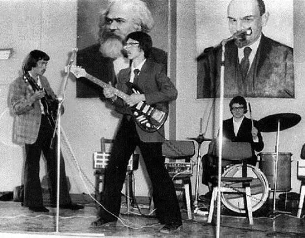 Рок-музыка в СССР.