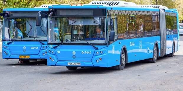 В Лианозове увеличился интервал движения автобуса №815