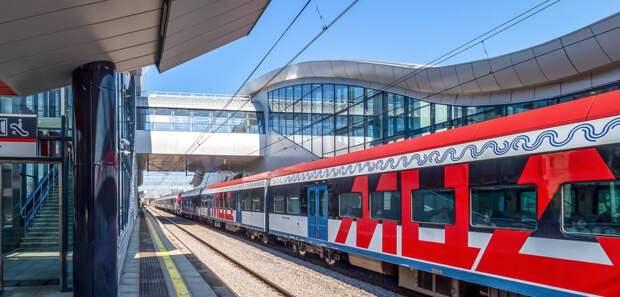 Поезда на участке D2 пустят по реверсивным путям