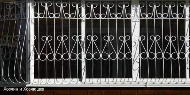 Установка защитных устройств на окна