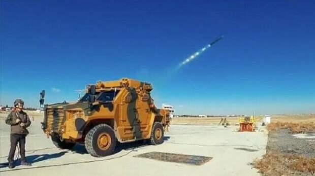 Турецкая армия получит новую ракетную систему