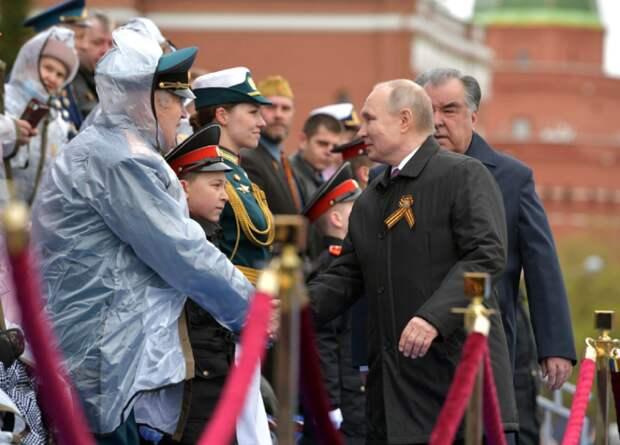 На Западе попытались раскрыть «секрет» Парада Победы 2021 в Москве