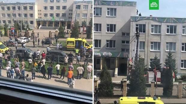 Источник: число погибших при стрельбе в казанской школе выросло до девяти