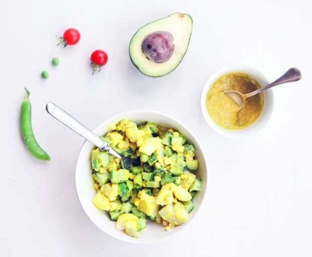 Оригинальный салат. \ Фото: salatshop.ru.