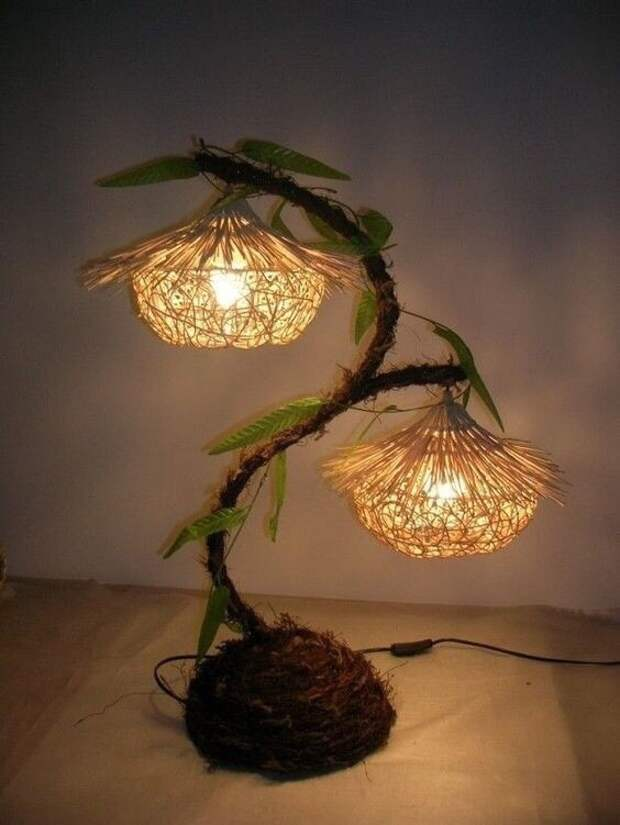 Настольные лампы в стиле Дикий Ар Деко