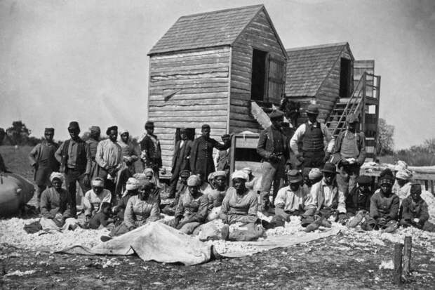Положение негров США после Гражданской войны