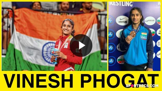 Vinesh Phogat - The wrestler