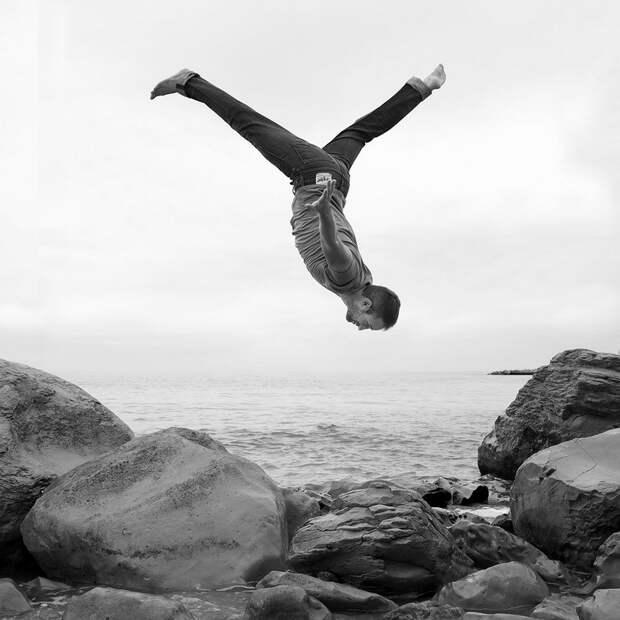 Фотограф Дирк Фогель. Чёрно-белые портреты