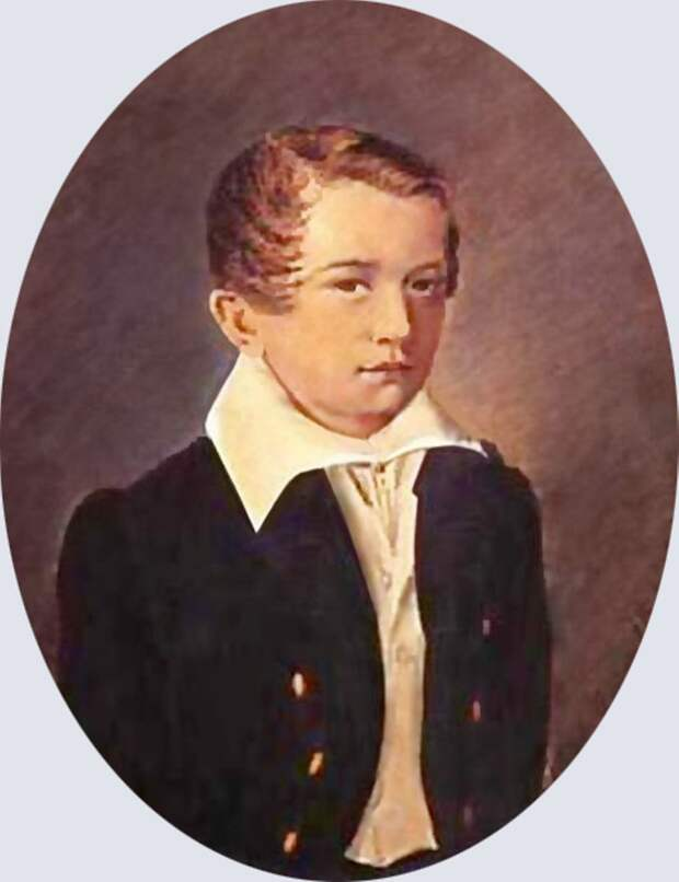 Иван Тургенев в детстве. / Фото: www.multiurok.ru