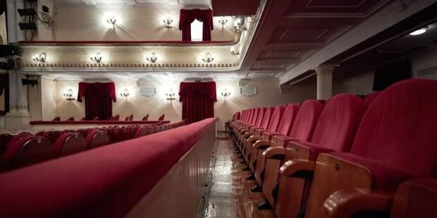Собянин рассказал о ходе программы реставрации и ремонта московских театров / Фото: М.Денисов, mos.ru