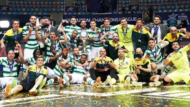 «Спортинг» обыграл «Барселону» и стал победителем мини-футбольной Лиги чемпионов-2021