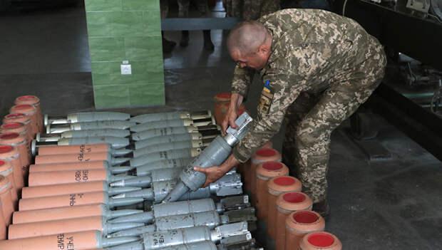 У украинской армии нехватка боеприпасов: осталось на семь дней боев