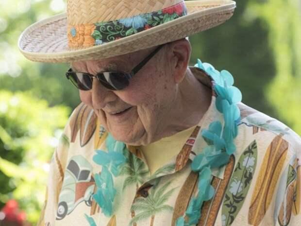 101-летний американец поделился секретами долголетия