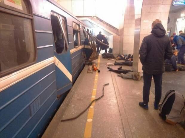 Годовщина теракта в петербургском метрополитене!