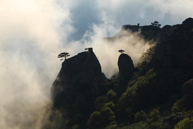 Низкая облачность на Демерджи