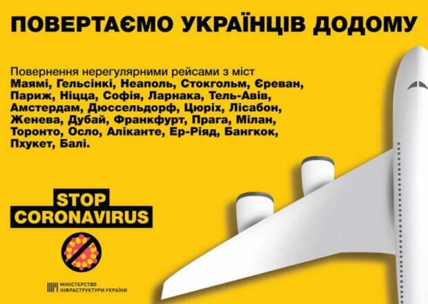Для украинцев, которые хотят вернуться домой, запланированы новые рейсы, - Владислав Криклий