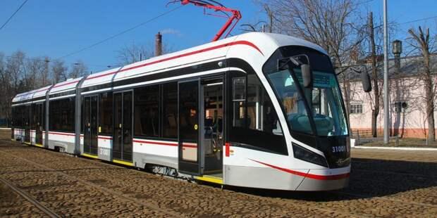 Окончание ремонта трамвайных путей на Космодемьянских перенесено на сентябрь