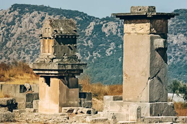 Гробницы Ксантоса