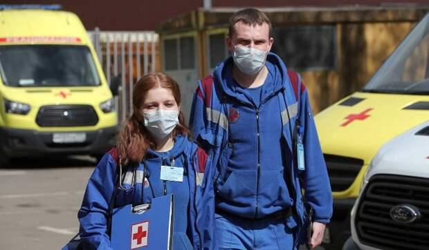 В России за сутки выявили более 8 тысяч новых случаев заражения COVID-19