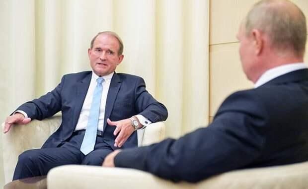Путин отомстит за «кума» Медведчука, забрав Новороссию?