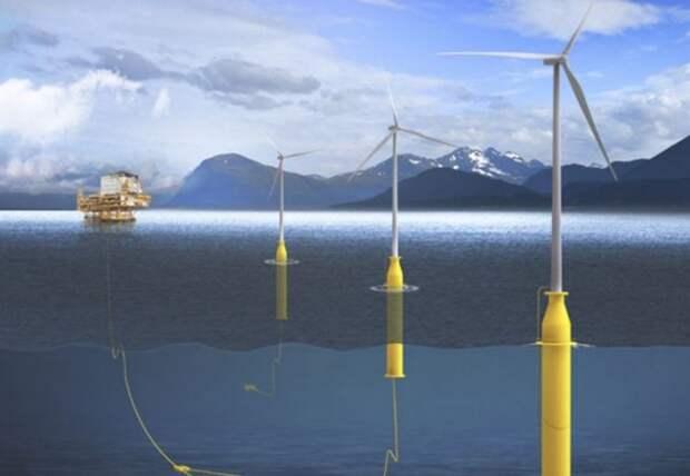 Платформы Equinor получат питание от плавучего ветропарка