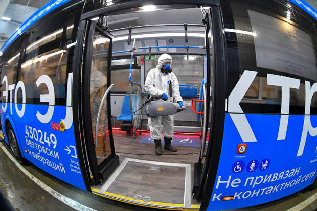 Власти Тувы ограничили работу общественного транспорта из-за COVID
