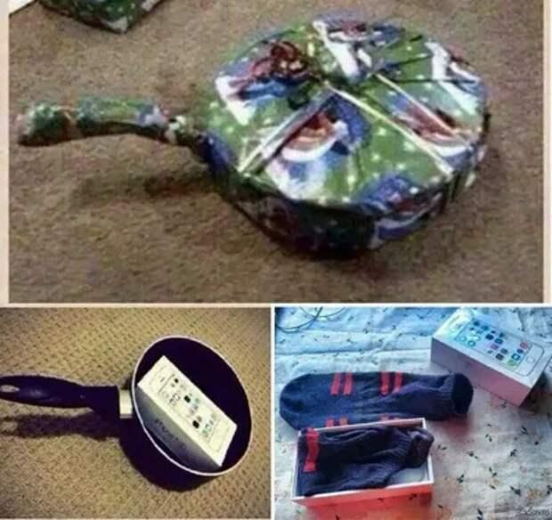 Упаковываем подарки правильно (подборка)