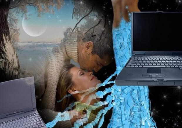 Зачем муж искал другую женщину в интернете