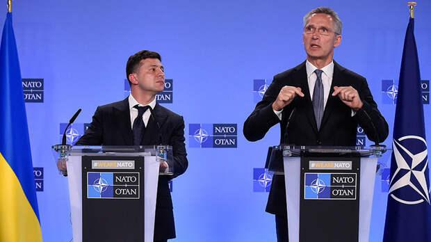 Зеленский готовит легализацию интервенции НАТО