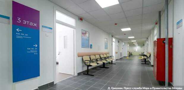 Собянин открыл еще четыре поликлиники после комплексной реконструкции. Фото: Д. Гришкин mos.ru