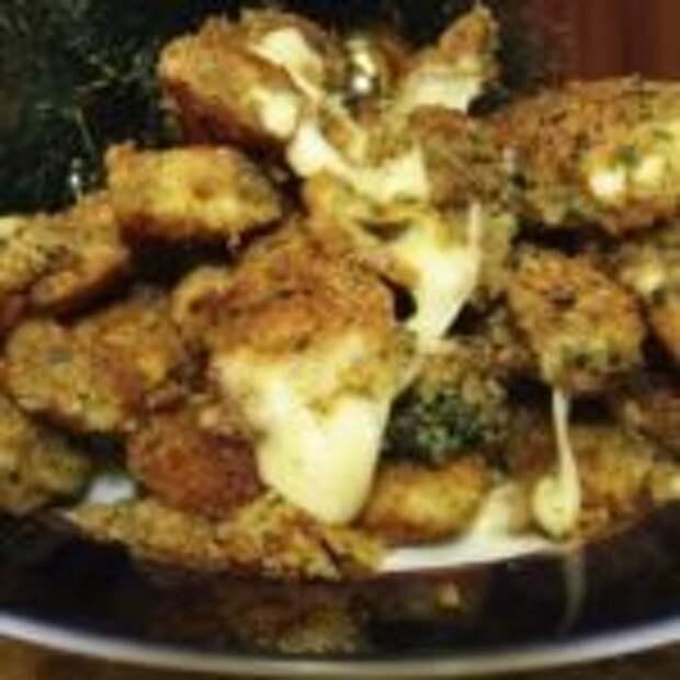 Горячая закуска из сыра в кляре «Сырные палочки»