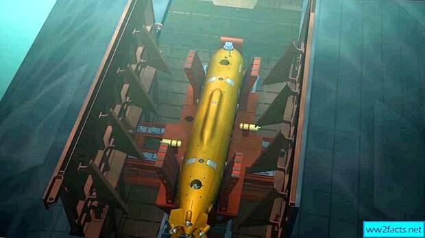 """До следующего года в России будет готова наземная база для подводных атомных дронов """"Посейдон"""""""