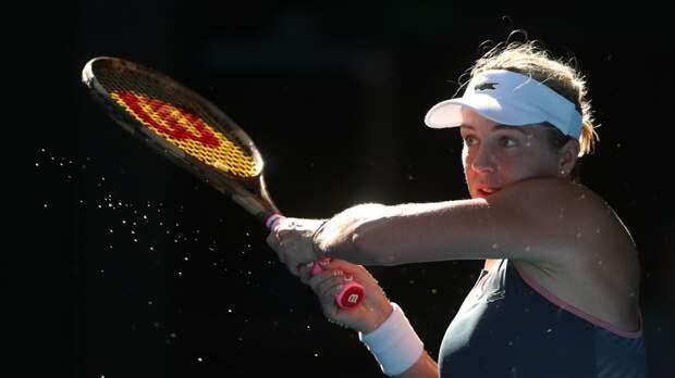 Потапова победила Павлюченкову и вышла во второй круг турнира WTA в Стамбуле