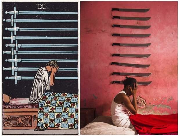 Жители Гаити воплотили в жизнь таинственные карты Таро