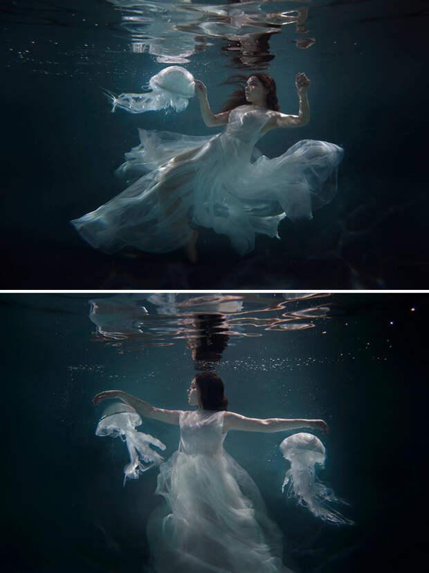 Фото девушек и зверушек от Катерины Плотниковой поражают воображение