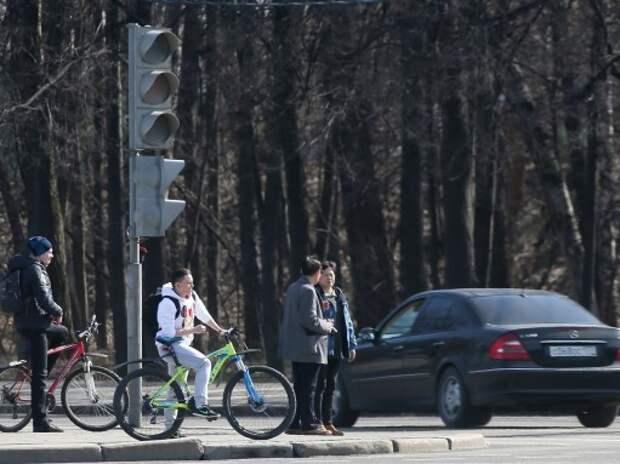 В Москве установят светофоры для велосипедистов
