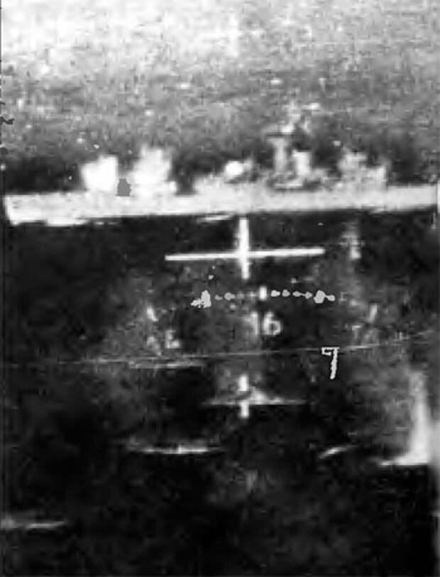 Британский корабль - в прицеле аргентинского летчика
