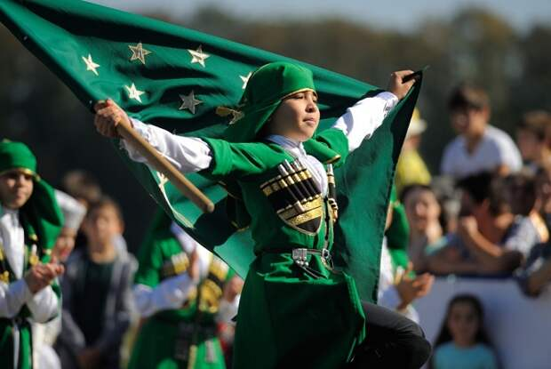 Жители Адыгеи празднуют День образования республики