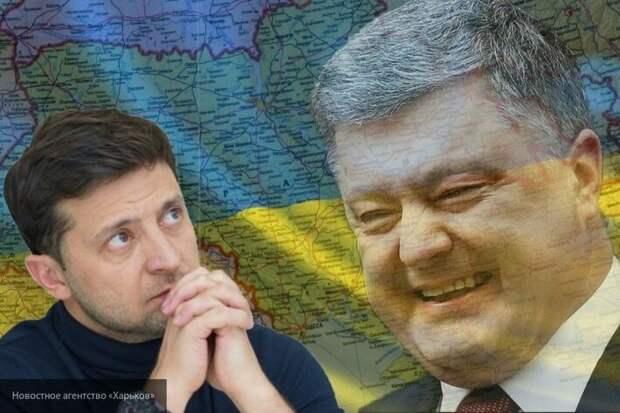Порошенко обвинили в нападении на на Офис президента Украины