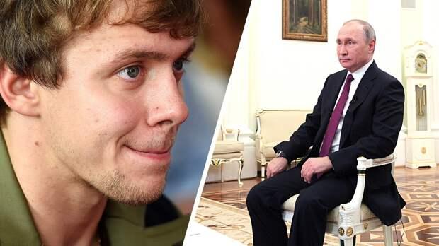 Российский хоккеист клуба НХЛ Панарин заявил, что Путин засиделся у власти: «Уже не понимает, где хорошо, а где плохо»