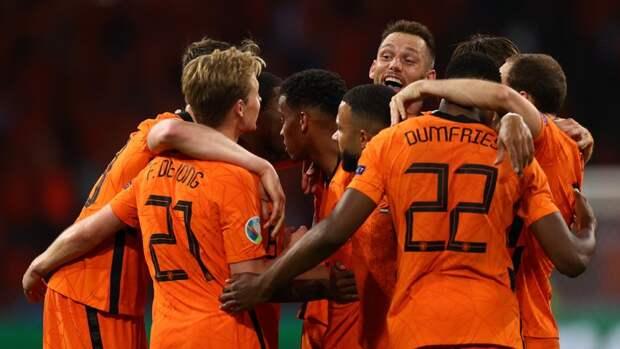 Голландия вырвала победу вматче Евро-2020 сУкраиной