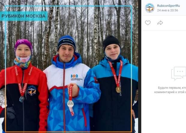 Спортсмены из Митина стали призерами чемпионата по спортивному ориентированию