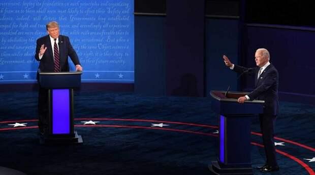 В Кремле высказались о цирке Трампа и Байдена