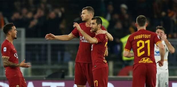 «Рома» отказалась отпоездки вИспанию наматч 1/8 финала Лиги Европы с«Севильей»