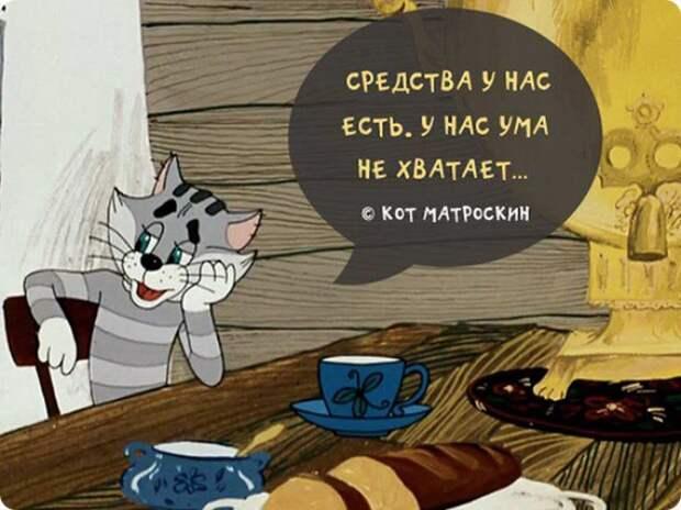 Самые любимые цитаты из советских мультиков