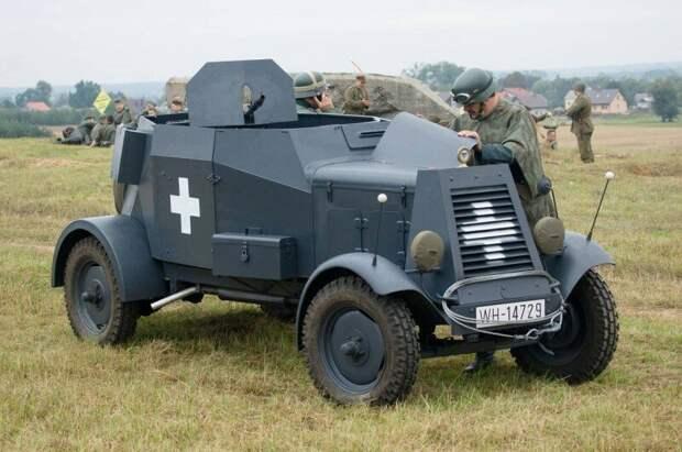 Maschinengewehrkraftwagen Sd.Kfz.13 «Adler» Maschinengewehrkraftwagen, Sd.Kfz.13, авто, адлер