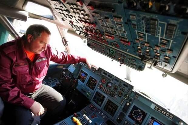 Рогозин отмечает прогресс в российско-китайском проекте дальнемагистрального самолета